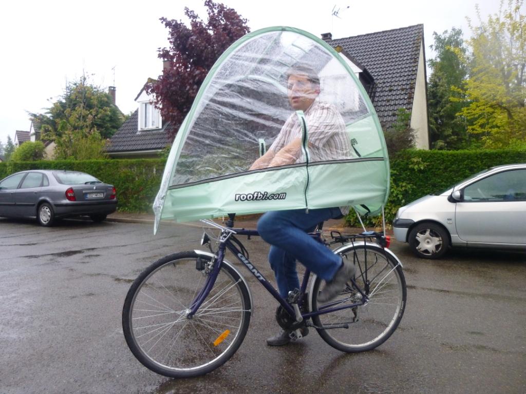 Abri Vélo Pas Cher roofbi, abri anti-pluie pour cyclistes en sueur - territoire