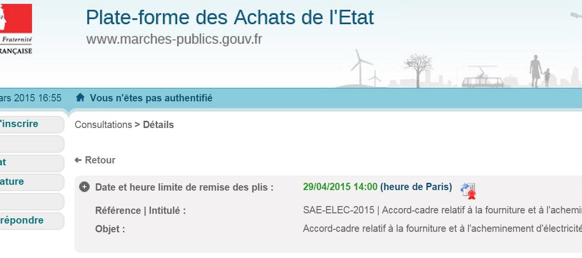 Electricité: l'Etat retient EDF et Engie