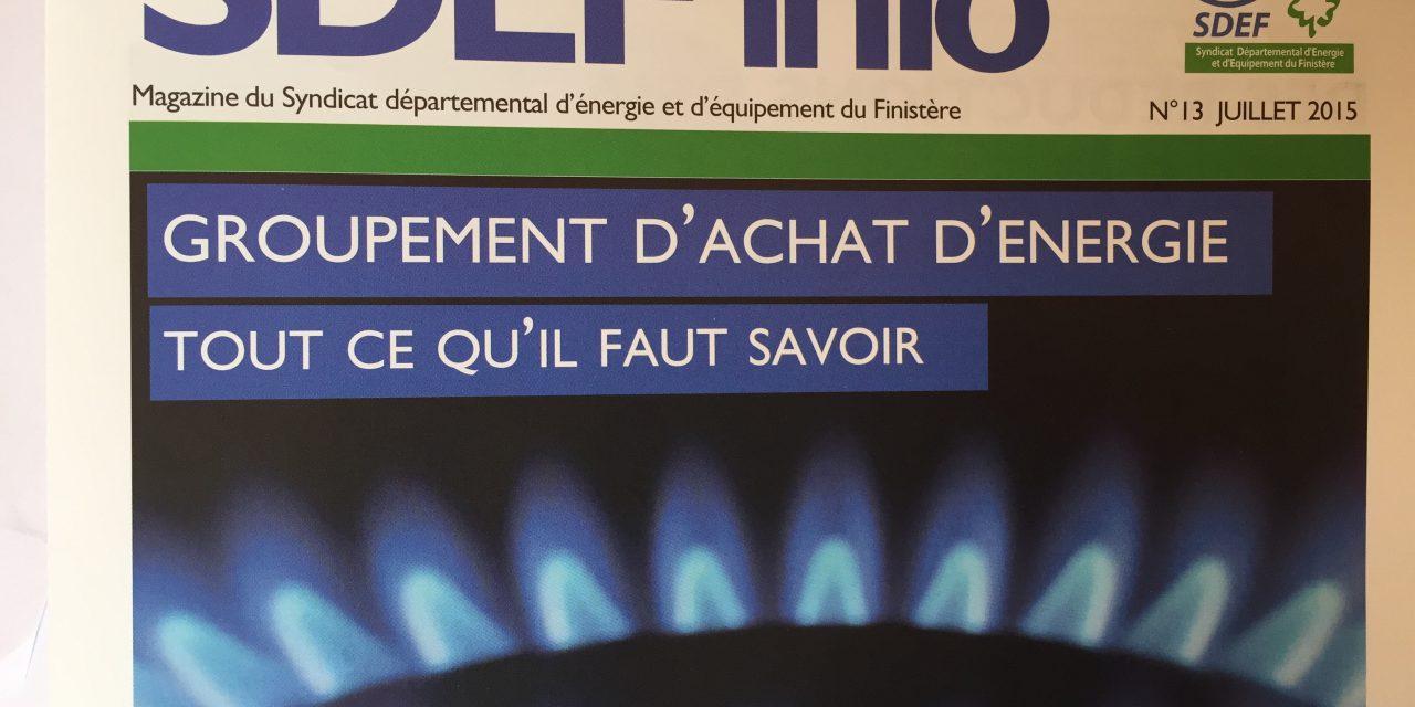 Finistère: le SDEF retient ENI et GDF Suez