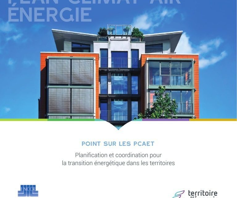 Les trois quarts des « territoires d'énergie » impliqués dans l'accompagnement des PCAET