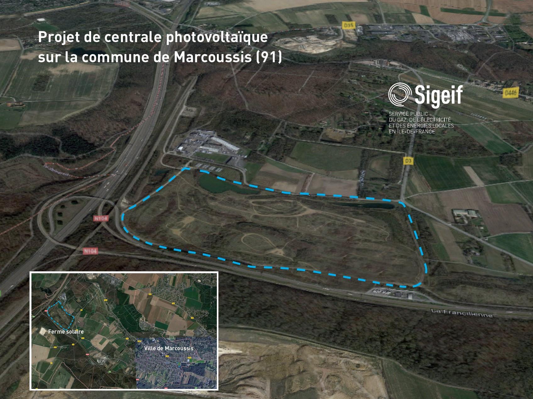 Essonne  le SIGEIF lance le projet