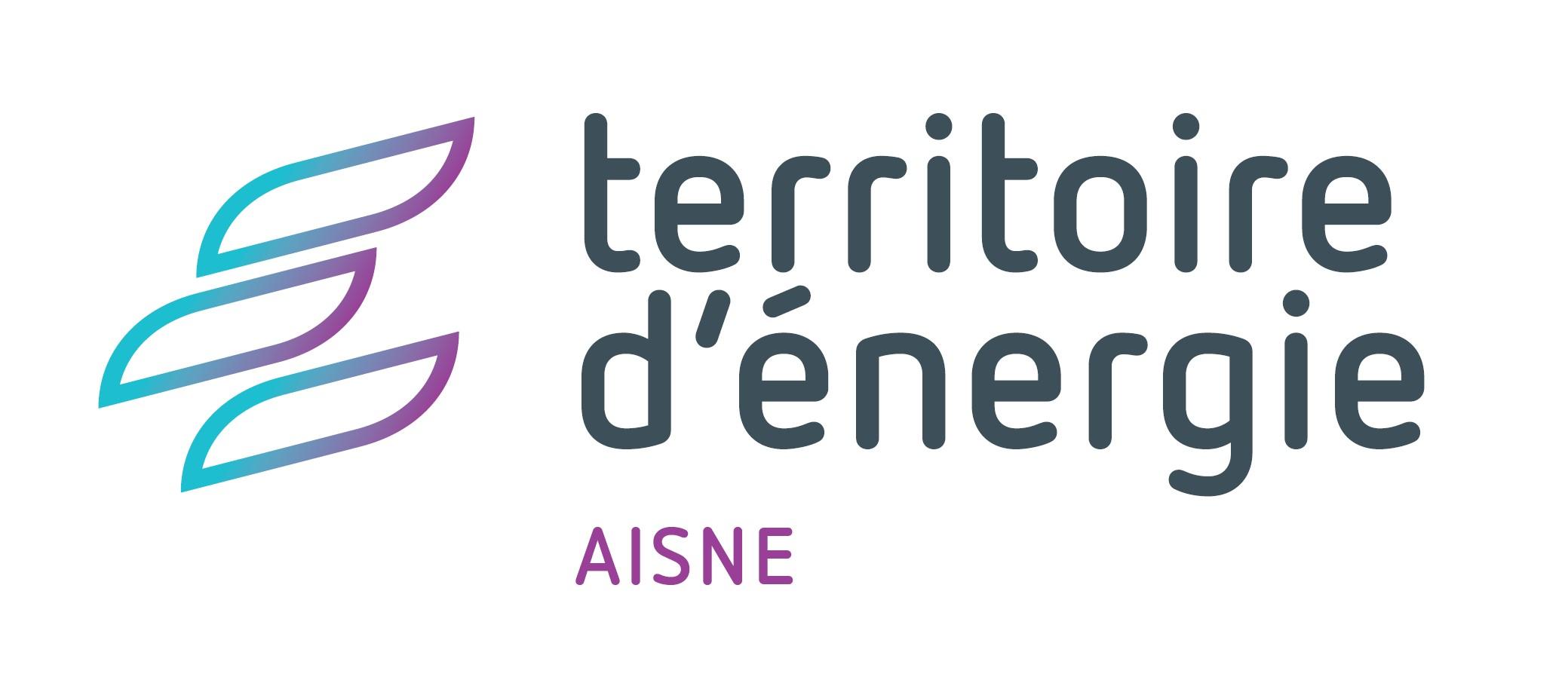 Logo territoire d'énergie Aisne