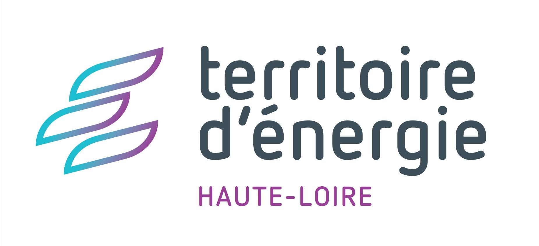 Logo territoire d'énergie Haute-Loire