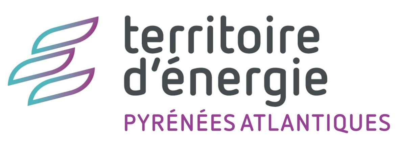 Logo territoire d'énergie Pyrénées-Atlantiques