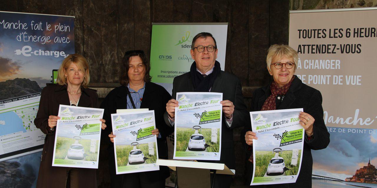 Electromobilité : le SDEM 50 lance le «Manche électro tour»