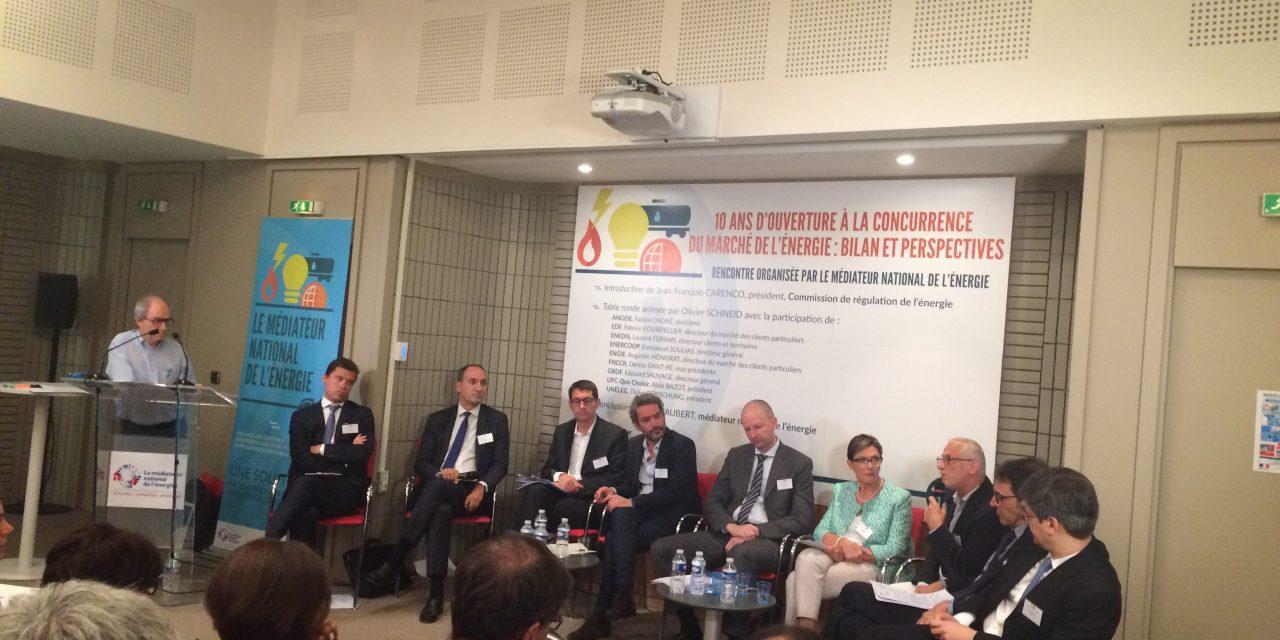 10 ans de concurrence : colloque du Médiateur national de l'énergie