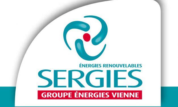 Sergies : inauguration d'une centrale photovoltaïque