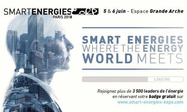 La FNCCR et territoire d'énergie partenaires de Smart Energies 2018