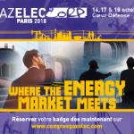 La FNCCR territoire d'énergie partenaire du congrès Gazelec 2018