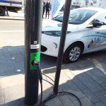 Calais expérimente la recharge électrique par le réseau d'éclairage public