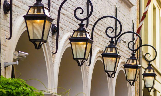 Eclairage public : territoire d'énergie Tarn rénove Puycelsi