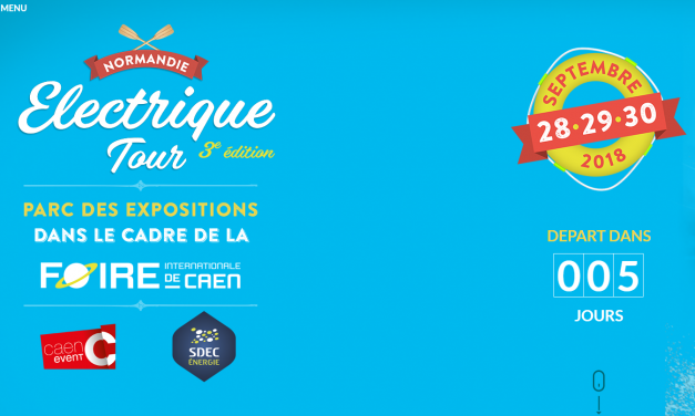 Normandie Electric Tour : J-5