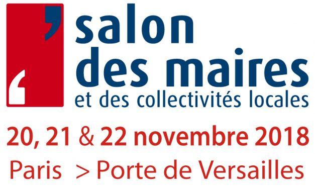 Salon des maires 2018 : rendez-vous au stand FNCCR territoire d'énergie