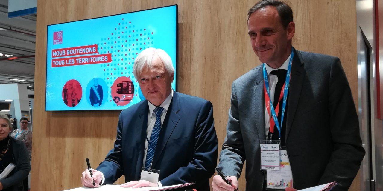 Rénovation énergétique des bâtiments publics : partenariat FNCCR «territoire d'énergie» – Banque des territoires