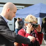Salon des maires 2018 : tester la réalité virtuelle avec territoire d'énergie Mayenne