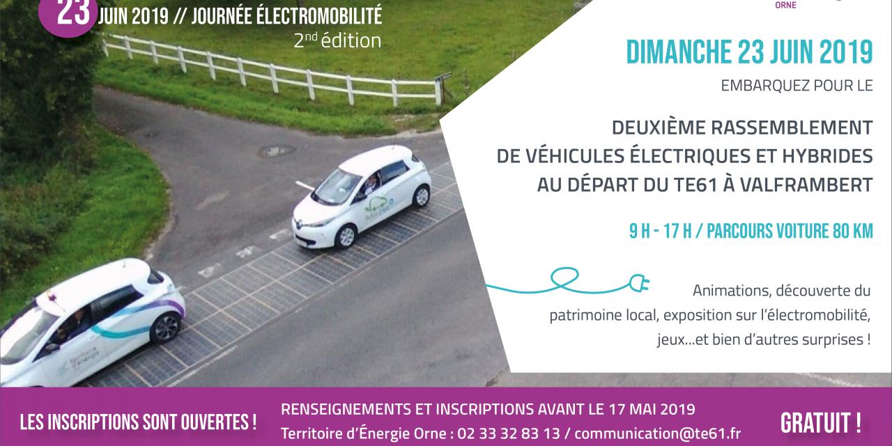 Journée électromobilité dans l'Orne : les inscriptions sont toujours ouvertes !