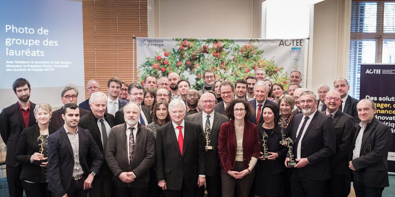 Territoire d'énergie Bourgogne-Franche-comté, lauréat du programme ACTEE