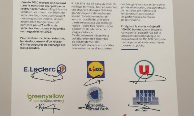 Mobilité propre : la FNCCR s'engage pour atteindre l'objectif des 100.000 bornes