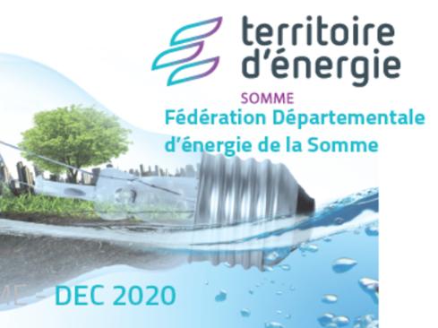 Territoire d'énergie Somme publie sa dernière newsletter de 2020