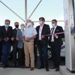 Territoire d'énergie 47 inaugure la 1ère station publie à énergie positive de France