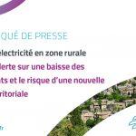 Réseaux d'électricité en zone rurale : la FNCCR alerte sur une baisse des financements