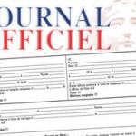 Journal officiel janvier 2018